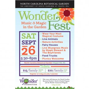 Cover photo for WonderFest: Music & Magic in the Garden