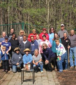 Master Gardener volunteers in Wake County