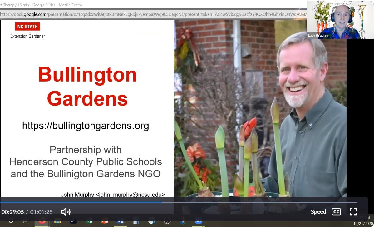 John Murphy, Bullington Gardens